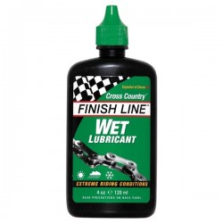 Mazání FINISH LINE Wet Cross Country 120ml-kapátko