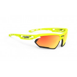 Brýle Rudy Project Fotonyk yellow fluo gloos-bumpers black / Multilaser Orange